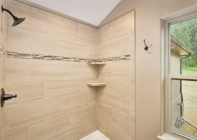 22) Woodland Cottage Master Bath Shower